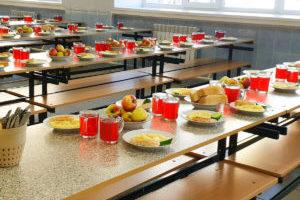 Бесплатное горячее питание для школьников